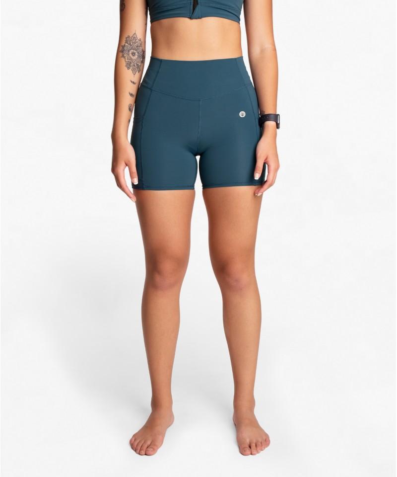 我不設限 - 運動短褲・靛青