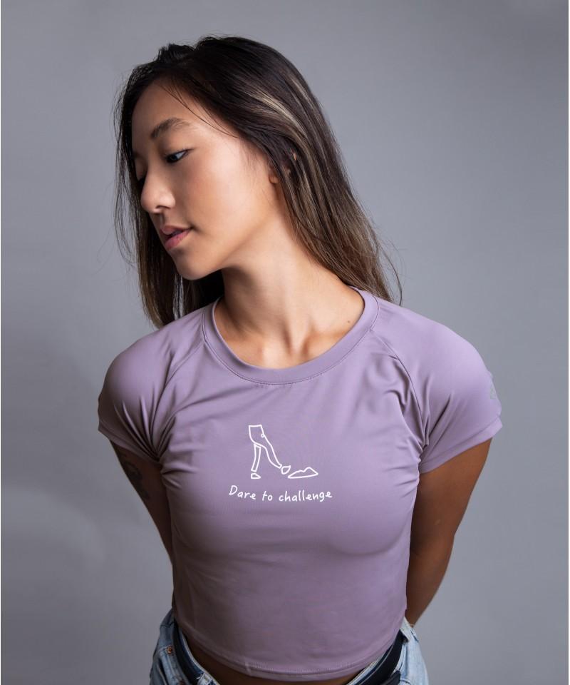 微笑向前 - 塗鴉款・薰衣草紫