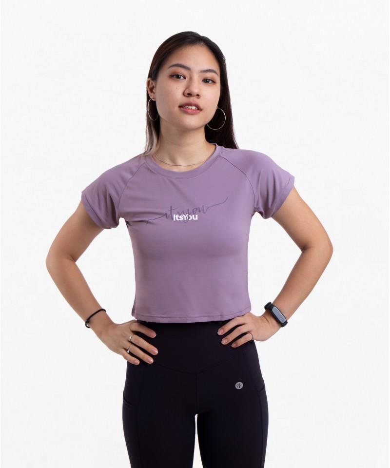 微笑向前 - Logo款・薰衣草紫
